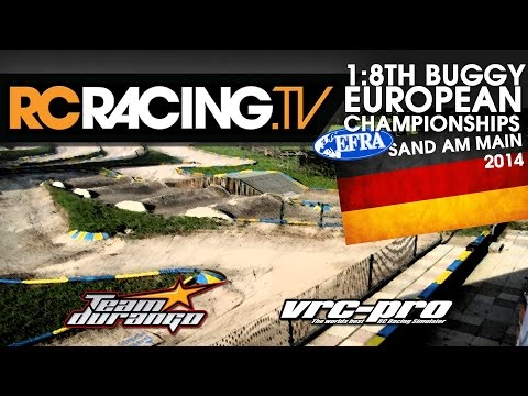 EFRA 1/8th Off Road Euros - Friday - Qualifying and Lower Finals- Live!