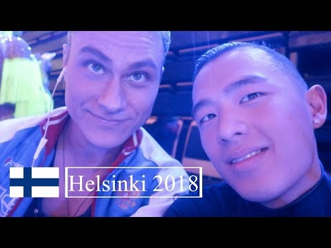 First Grandslam of 2018 Helsinki | VLOG 32