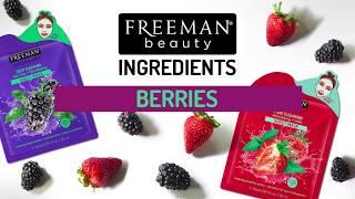 Freeman Beauty Ingredients -  Berries
