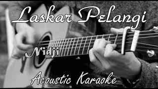 Nidji - Laskar Pelangi Karaoke Acoustic felix Version