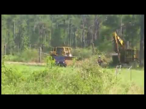 Tearing up the ground Sabal Trail on Bell property 2016091395111113
