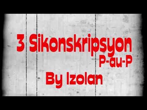 Izolan 3 Sikonskripsyon lyric