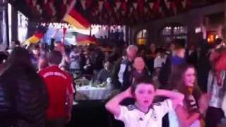 Así celebró en Chile la colonia alemana el triunfo ante Brasil