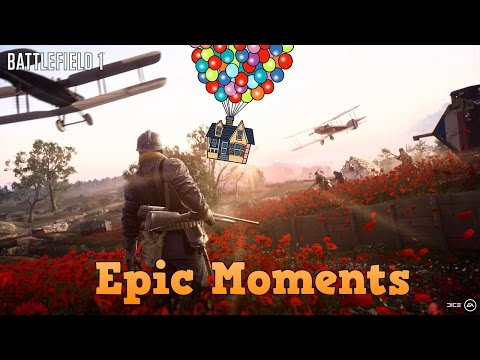 Flying House Easter Egg! - Battlefield 1 (They Shall Not Pass DLC): Epic Moments |