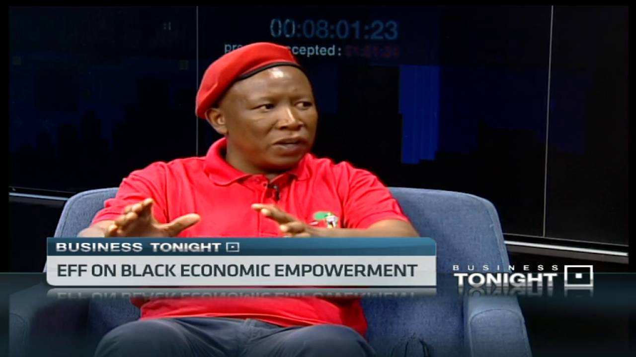 Julius Malema on EFF funding