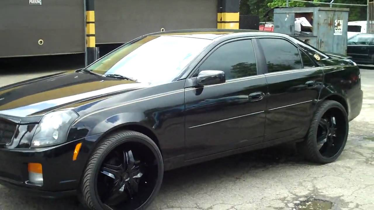 Cadillac Cts On 24 S Youtube