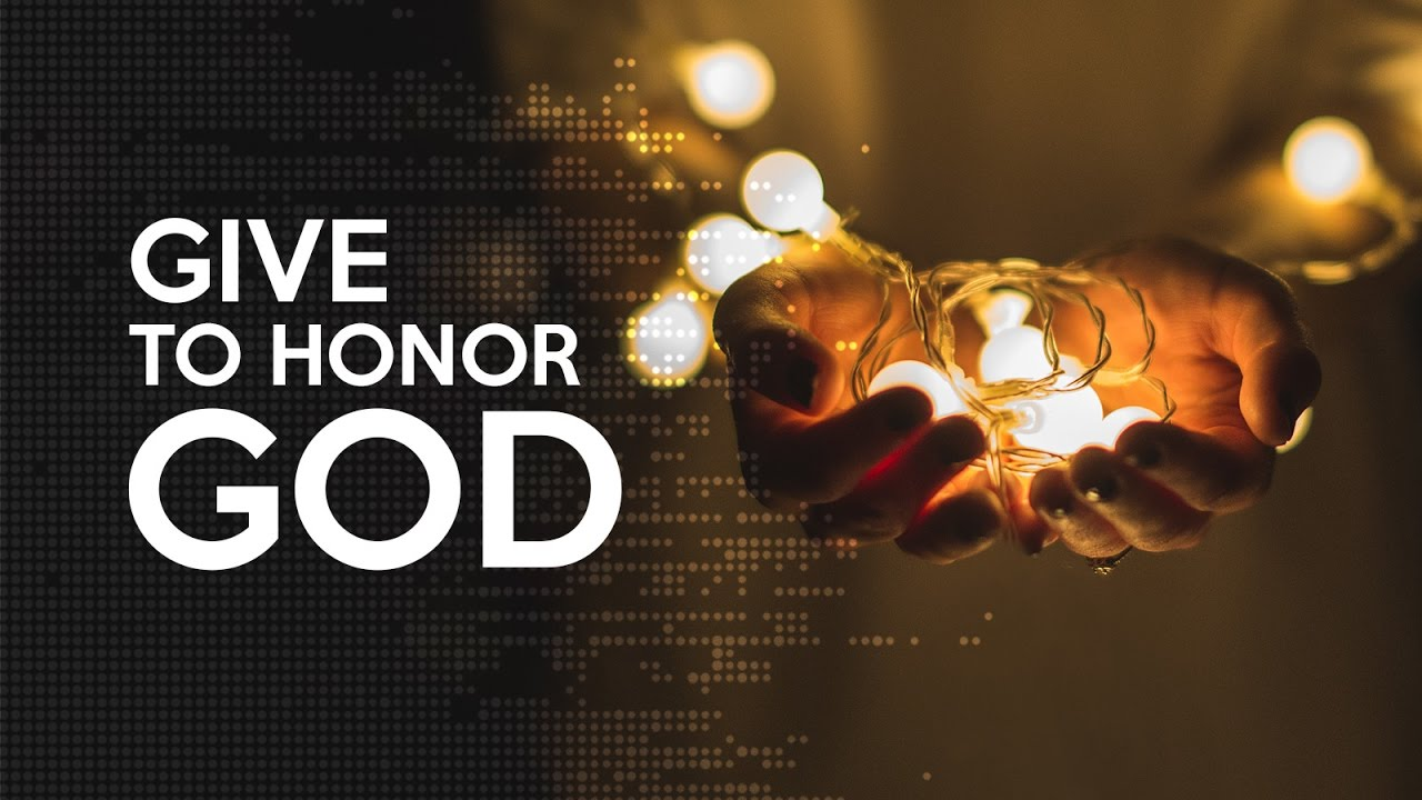 The Honor of Giving