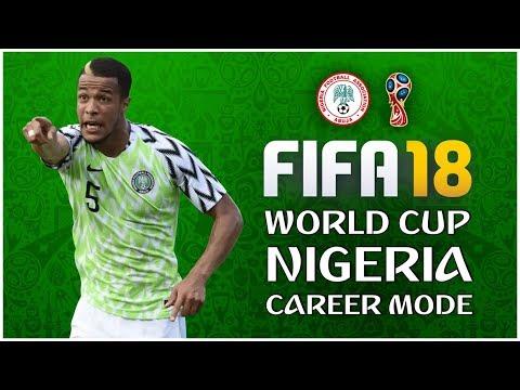 FIFA 18 Nigeria Career Mode: Let's Go Super Eagles #1 (World Cup 2018)