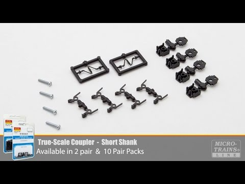 Micro-Trains True-Scale Coupler Demonstration