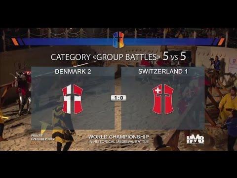 Switzeland 1 vs Denmark 2  Battle of the Nations 2016