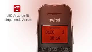 Produktvideo zu Switel D150 Vita Comfort Großtasten-Telefon