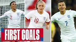 VARDY, BARNES, STANWAY | First Goals From England's Stars | England