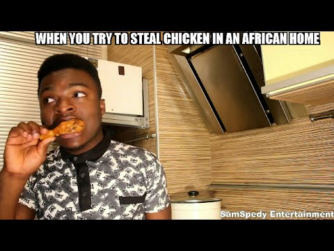 Download When You Try To Steal Chicken In An African Home