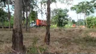 Scania driver training TtT in Thailand