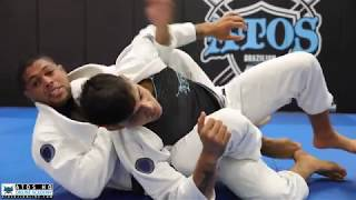 3 different variations of back taking from the same position - Andre Galvao.