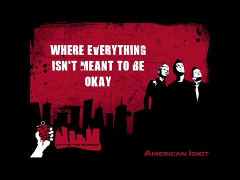 Green Day - American Idiot (Lyrics)