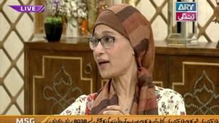 Naila Jaffri graces Salam Zindagi show - ARY Zindagi Show