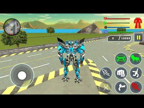 Lion Robot Car Transforming Games #2 (Buntoo Games) | Android Gameplay HD