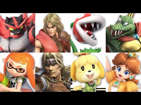 Super Smash Bros Ultimate - All New Characters Gameplay Showcase thumbnail