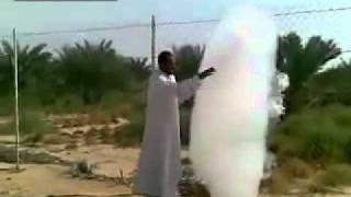 Cloud comes down to interact with man in UAE - Amazing video or amazing fake?