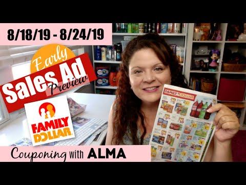 Early Preview 8/18/19 Family Dollar Sales Ad