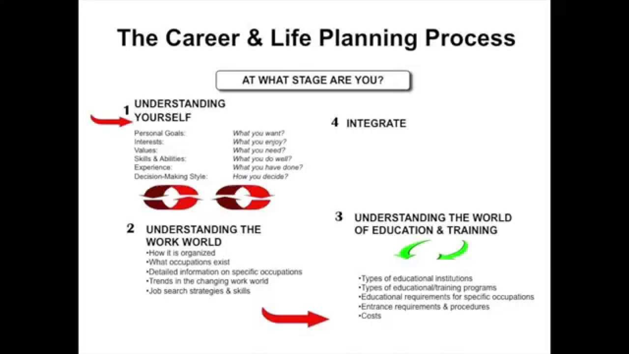 career and life planning process career and life planning process