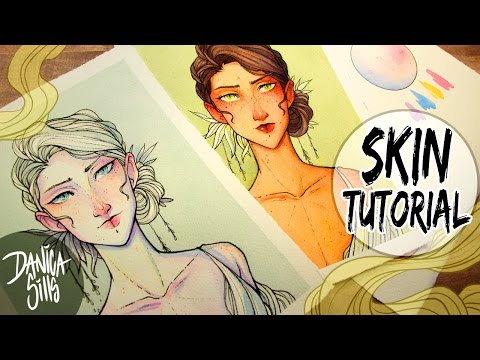 Watercolor Skin Tutorial ♦ How to Mix Skin Colors for Painting