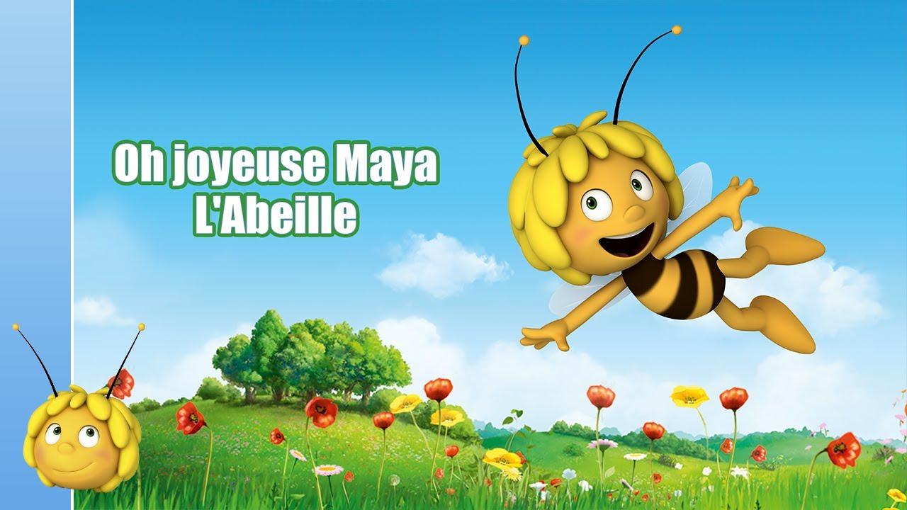 Paroles Maya L Abeille Oh Joyeuse Maya L Abeille Youtube