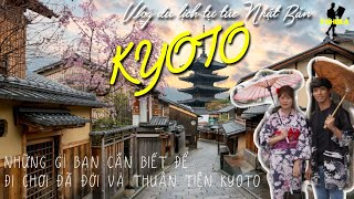 Mời bạn đi Kyoto - phố cổ đẹp nhất Nhật Bản/ Chùa Kiyomizu/ Chùa vàng/ Khu Geisha/ Rừng trúc