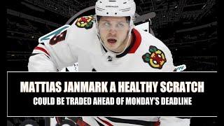 Mattias Janmark A Healthy Scratch For Blackawks Ahead Of 2021 NHL Trade Deadline