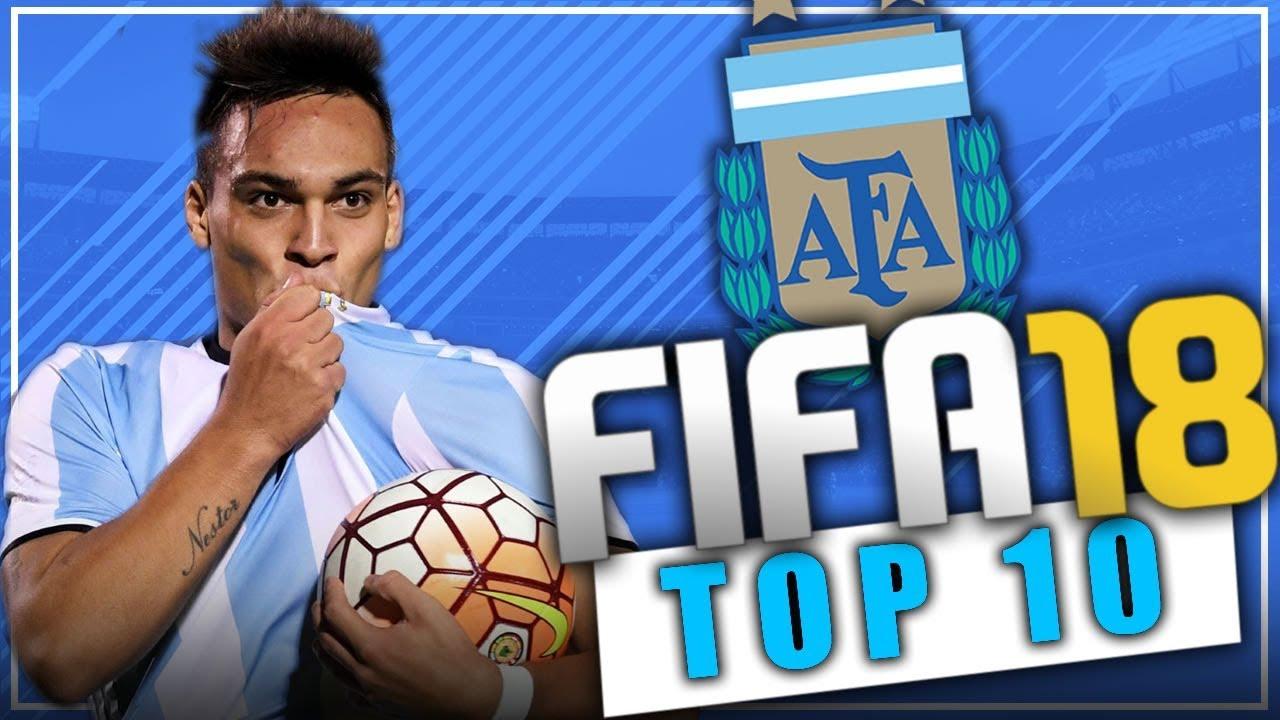 Fifa 18 top jovenes promesas de argentina modo for Esteban paredes fifa 18