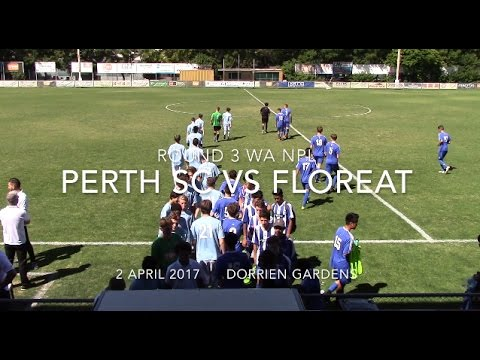 Round 3 WA NPL U16 Perth SC vs Floreat 2 April 2017