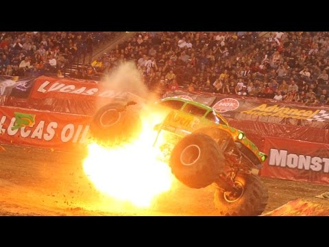 Monster Truck Crash & Monster Jam Video Collection - 2018 HD