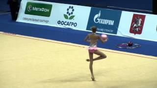 Яна Кудрявцева, мяч, Гран-При Москва 01.03.2013