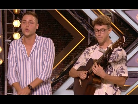 Duo Blows Judges Away With ED SHEERAN MASH UP | Audition 1 | The X Factor UK 2017
