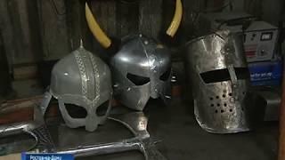 Ростовский автослесарь создает настоящие доспехи русских богатырей и викингов