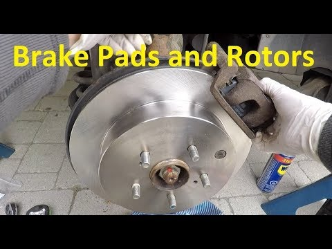 How to Replace Rear Brake Pads and Rotors on Suzuki Grand Vitara