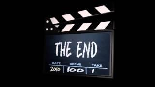 The End -хлопушка футаж