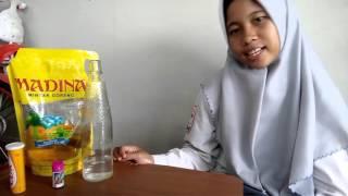 Cara membuat lampu lava sederhana