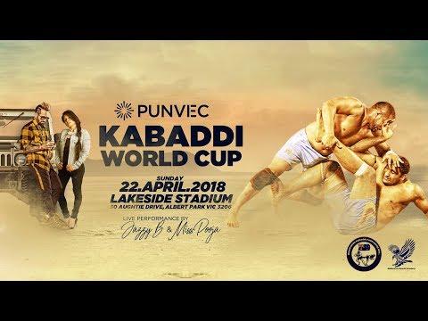 LIVE PUNVEC KABADDI WORLD CUP 2018