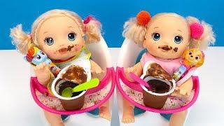 ЧУПА ЧУПС ПОСЛЕ ГРЕЧКИ Куклы Пупсики Кушают Играют Как Мама Игрушки Для детеи 108мама тв