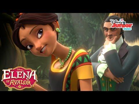 Don't Look Now | Music Video | Elena of Avalor | Disney Junior