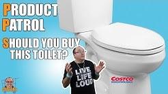 Costco Toilet Review: WaterRidge Dual Flush 2019
