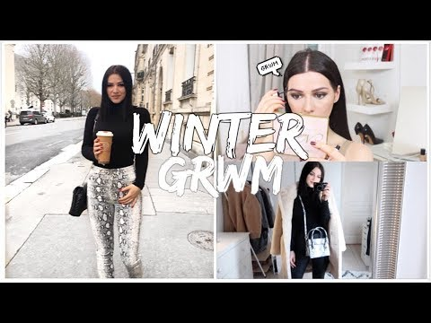 GET READY WITH ME THIS MORNING - WINTER EDITION ❄️