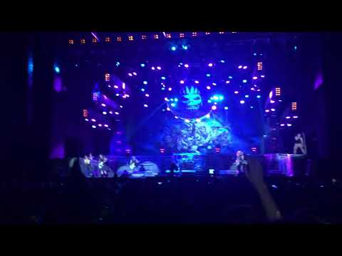 Iron Maiden Wasted years live at Estadio Nacional Santiago Chile 2016