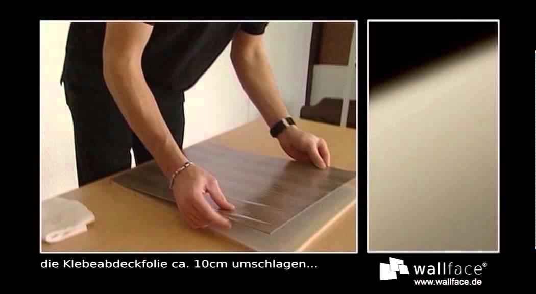 Wallface Wandpaneele Wandplatten Selbstklebend Teil 5 Youtube