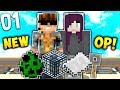 TIME TO BEGIN! | SKYCADE OP FACTIONS #1 (Minecraft Factions/Raiding)