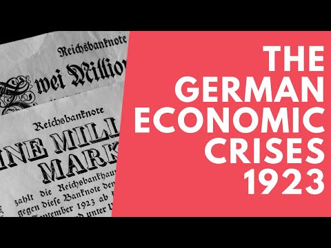 German Economic Crises 1923