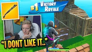 Tfue *SHOCKED* by Combat Shotgun & Season 9... Then WINS!