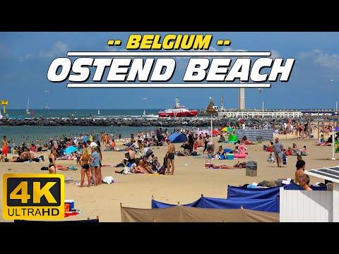 Oostende strand / Ostend beach (Belgium)